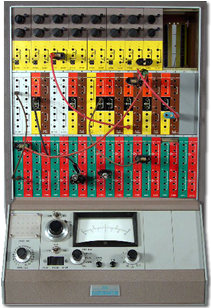 picture of the Electronic Associates Inc. (EAI), TR-10 analog computer from the EarlyComputers collection of rare computers and vintage computers that catalog the history of computing