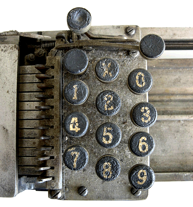 image of Closeup of the keyboard.