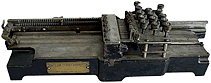 A view of the vintage Keypunch Type 001 an important part of computer history