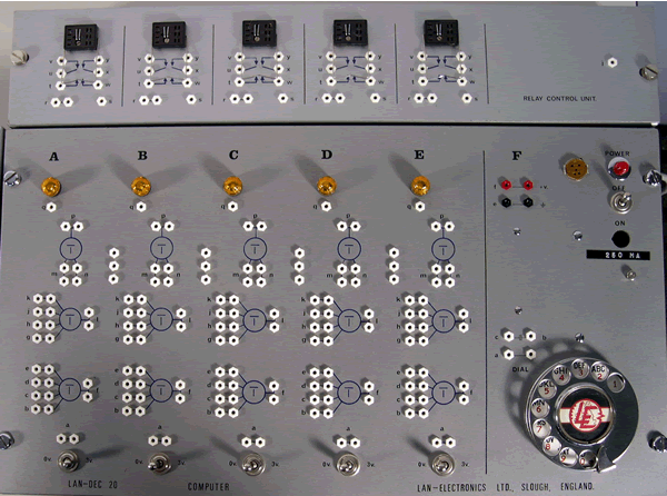 Overhead shot of the Relay Control Unit and LD-20