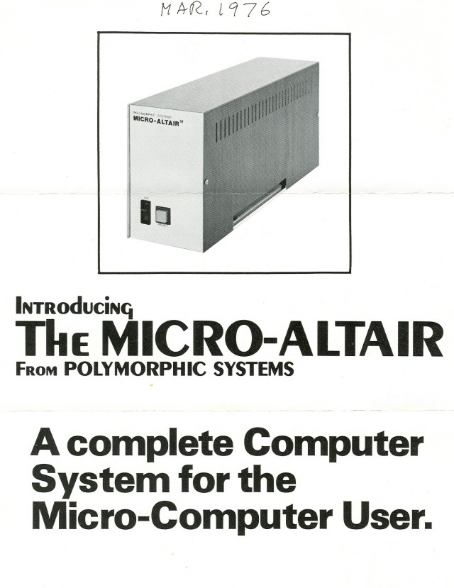 Cover of the brochure